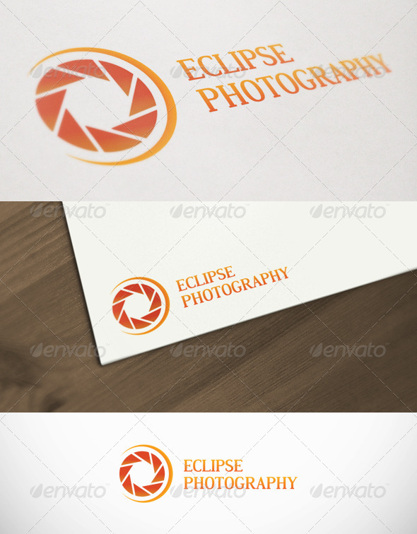 GraphicRiver Eclipse Photography Premium Logo Template 2802214