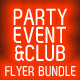 Club, Party & Event Flyer Bundle PSD Templates - GraphicRiver Item for Sale