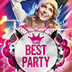 2 Best Party Flyer - GraphicRiver Item for Sale