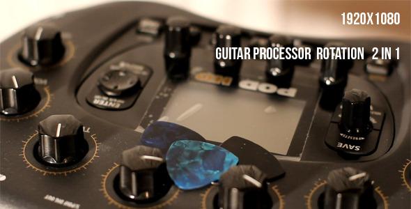 Guitar Processor Rotation 2 In 1