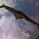 Woman Jumping On A Trampoline - VideoHive Item for Sale
