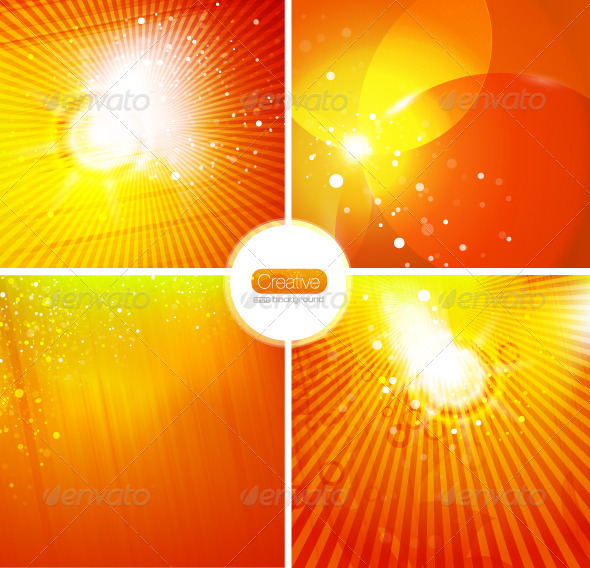 Energy Vector Backgrounds - Nature Conceptual