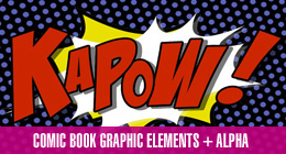 Comic Book Graphic Elements
