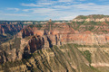 Aerial view Grand Canyon National Park in Arizona