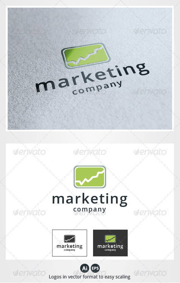 Marketing Logo - Symbols Logo Templates