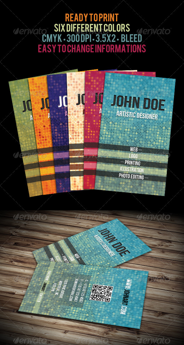 Fresh Business Cards - Creative Business Cards