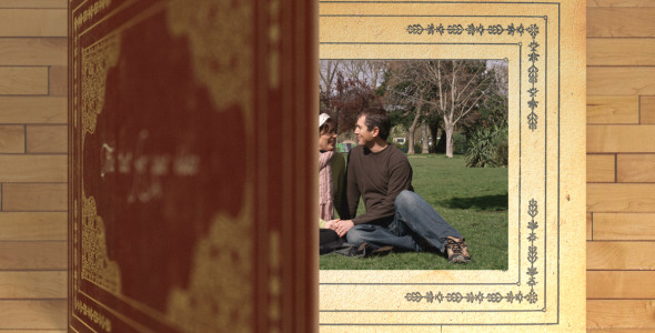 After Effects Project - VideoHive Book Transition 2804984