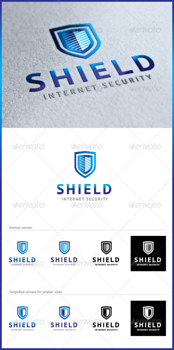 GraphicRiver Shield Logo 2805090