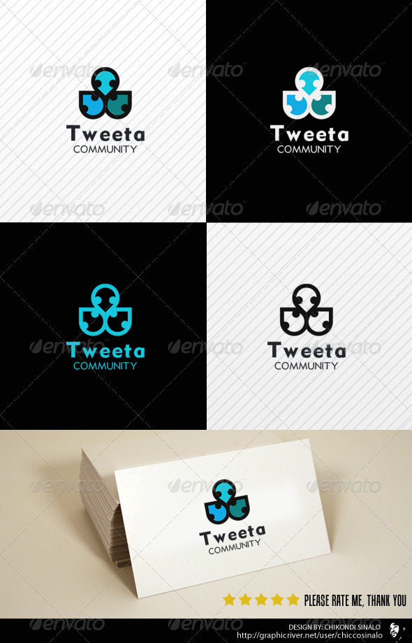Tweeta Logo Template - Nature Logo Templates