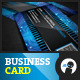 Chipset Modern - Business Card - GraphicRiver Item for Sale