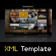 XML Template V3 - ActiveDen Item for Sale
