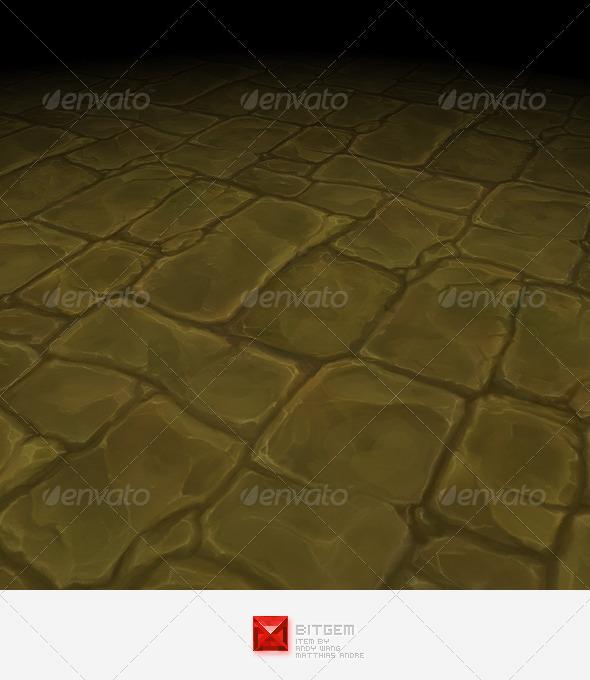 3DOcean Stone Floor Tile 06 2806345