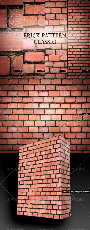 GraphicRiver Brick Pattern Classic 101213