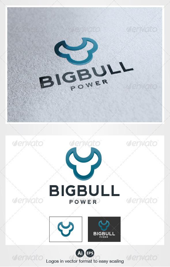 Big Bull Logo - Animals Logo Templates