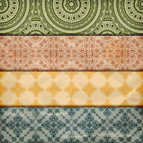 GraphicRiver Retro Borders 2803786