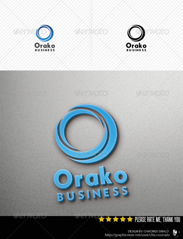 Orako Logo Template - Abstract Logo Templates
