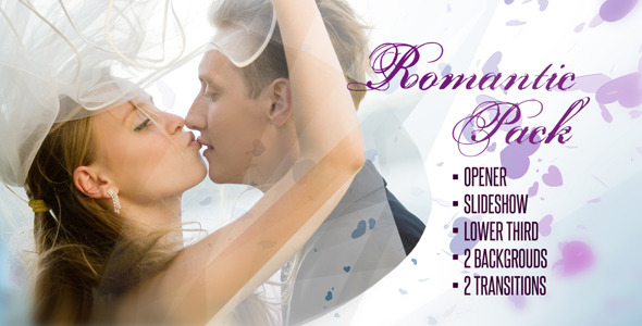 After Effects Project - VideoHive Romantic Pack 2808586