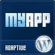 MyApp Адаптивная WP Тема для разработчиков приложений - Программное обеспечение Технологии