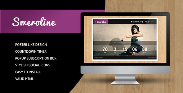 ThemeForest Sweroline Creative Under Construction Template 2803783