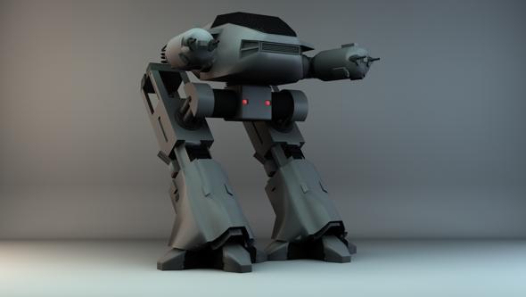 3DOcean Robocop ED-209 101008