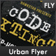'Code Extinct' Urban Flyer - GraphicRiver Item for Sale