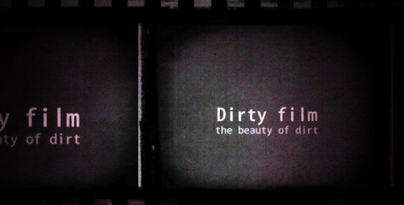 After Effects Project - VideoHive Dirty Film Titles 2809446