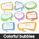 Colorful bubbles  - GraphicRiver Item for Sale