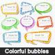 Colorful bubbles  - GraphicRiver Item for Sale