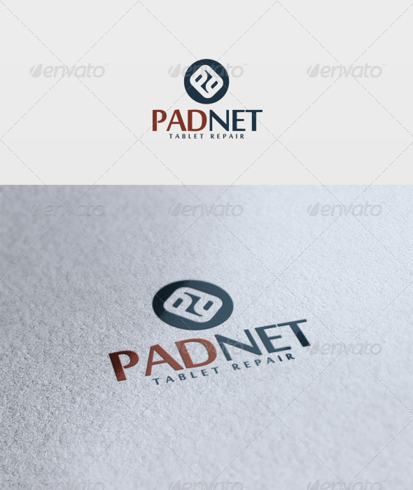 Padnet Logo - Vector Abstract