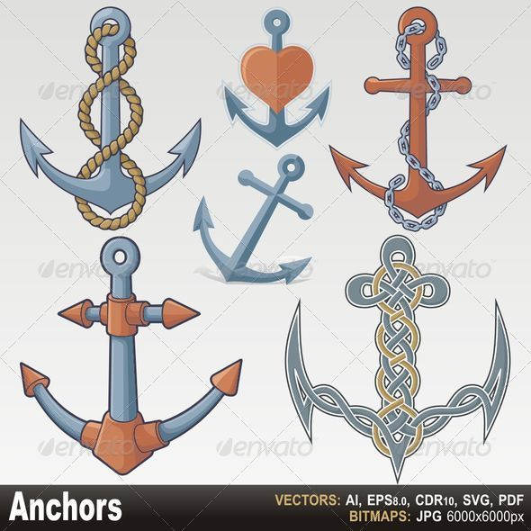 GraphicRiver Anchors 2811001