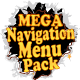 Mega Navigation Menu Pack With Menu Maker
