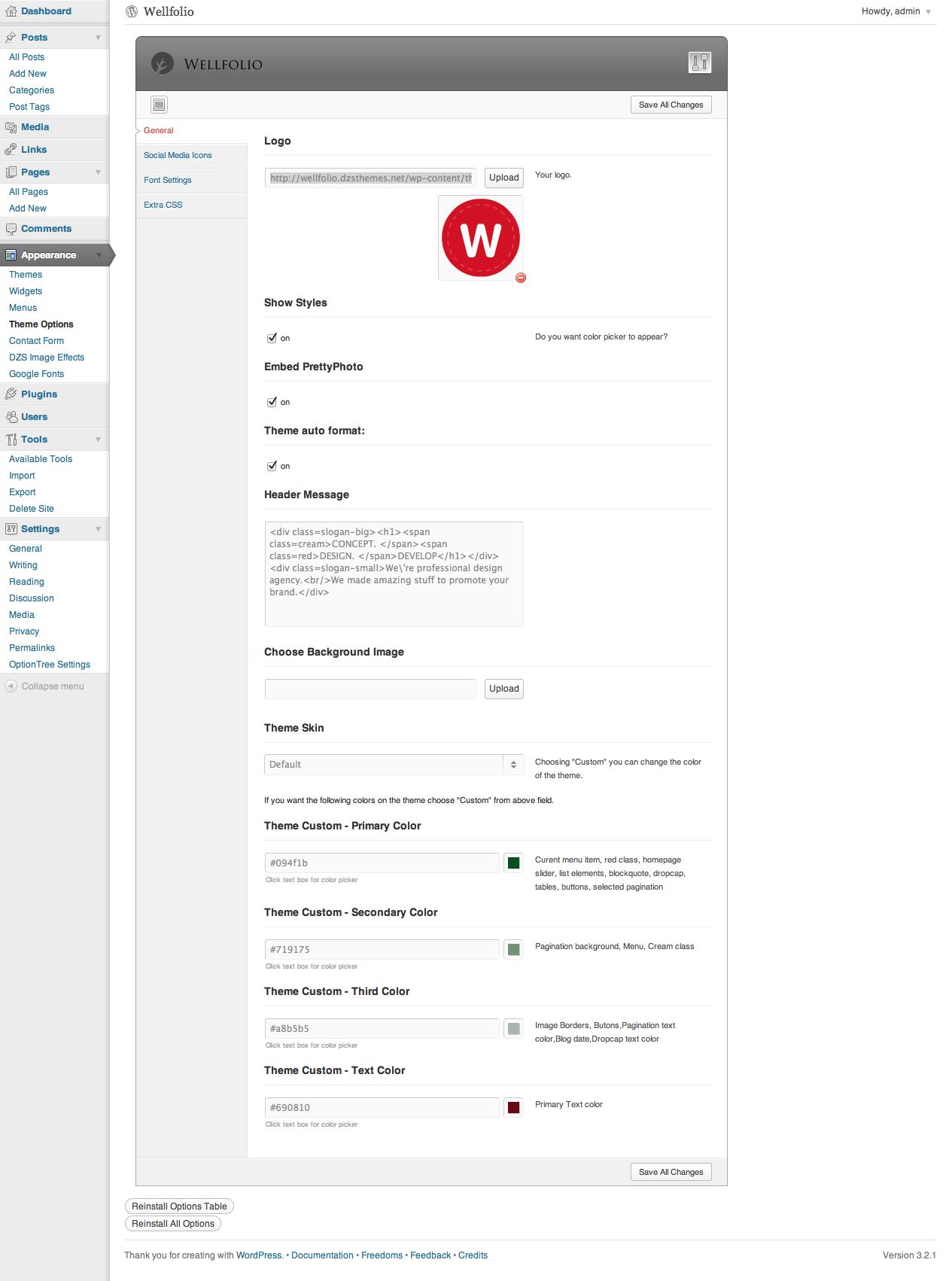 Wellfolio - Wordpress Perfect Minimalist Portfolio
