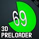 3D Circle Preloader - ActiveDen Item for Sale