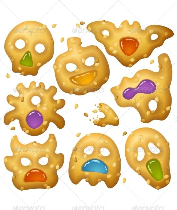 Halloween Food 2. Creepy Treats and Tasty Eats - Halloween Seasons/Holidays