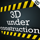 3D Under Construction (XML) - ActiveDen Item for Sale