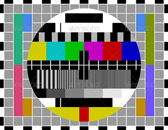 PAL TV test signal