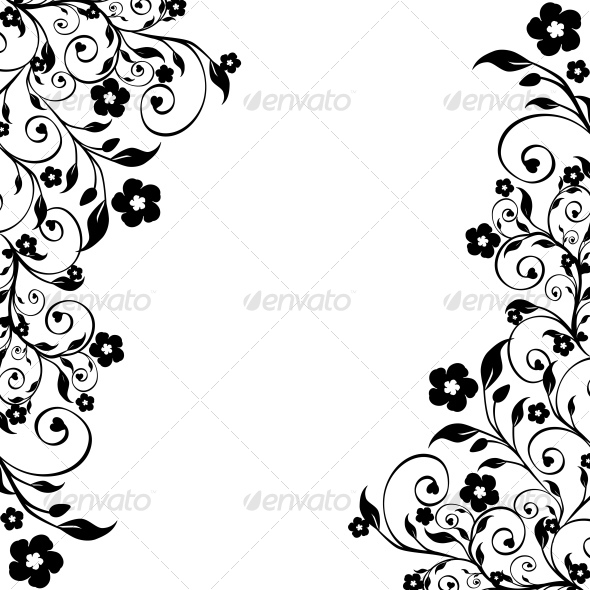 GraphicRiver floral ornament 101336