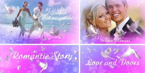 VideoHive Love And Doves 2792442