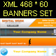 xml 468*60 banners set - ActiveDen Item for Sale