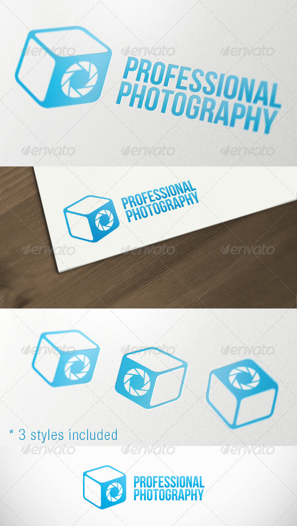 GraphicRiver Photography Box Studio Premium Logo Template 2813637