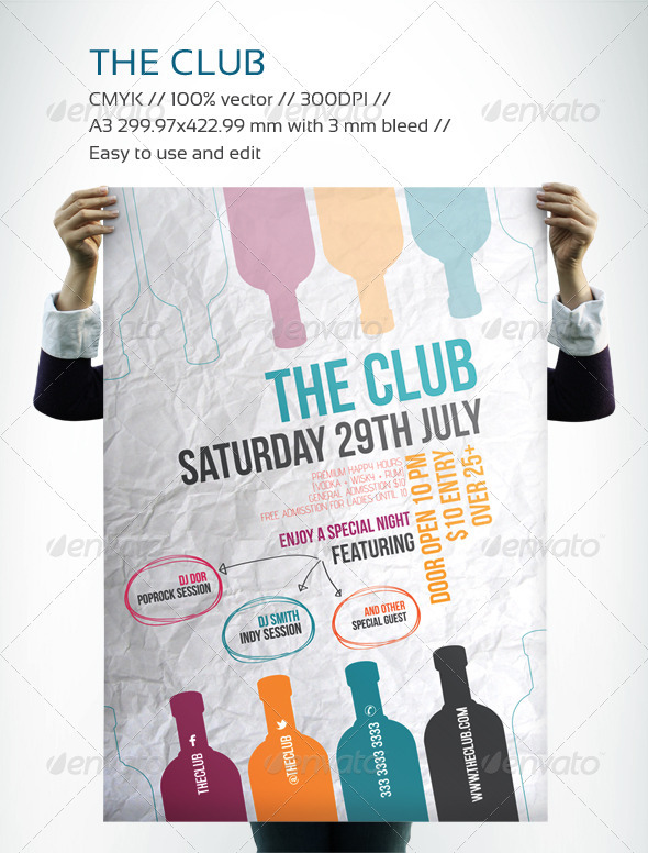 GraphicRiver The Club 2801783