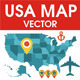 Download Vector USA map vector