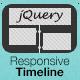 jQuery Msikivu Timeline - WorldWideScripts.net Item kwa Sale