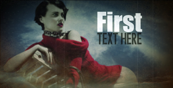 After Effects Project - VideoHive Old Memories 2819334