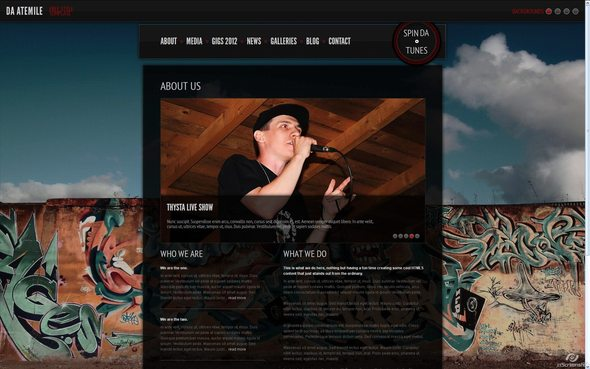 Da - AteMile - Free Style - Musician's Template - - Music and Bands Entertainment