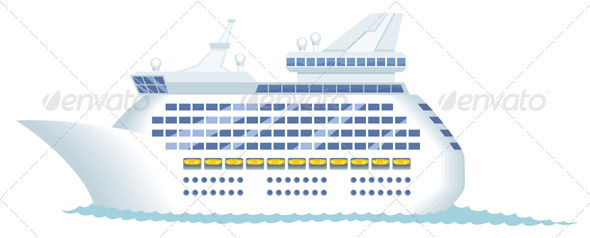 Cruise Ship - Travel Conceptual