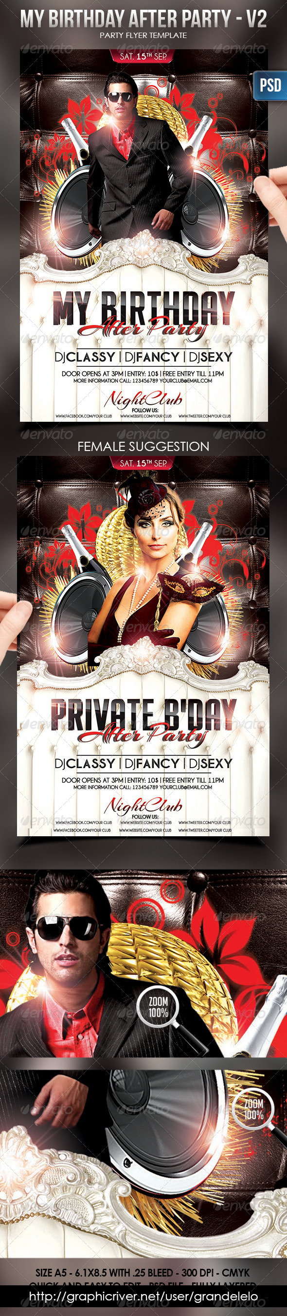 My Birthday Afterparty v2 - Clubs & Parties Events