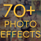 70+ Premium Photo Effects - GraphicRiver Item for Sale
