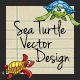 Sea Turtle Vector Design - GraphicRiver Item for Sale