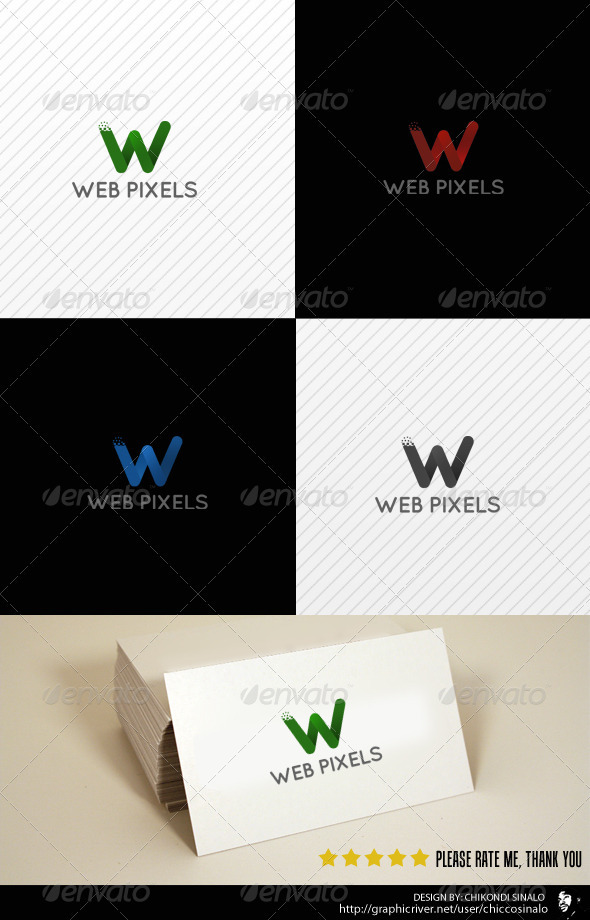 Web Pixels Logo Template - Letters Logo Templates